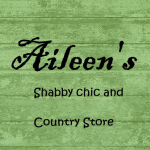 Aileen's Green Logo Sign